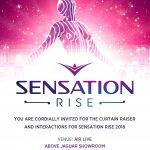 Sensation Press invite - 11.07.18 - PR Management by 3 MARK SERVICES